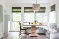 L Shaped Banquette - Eclectic - dining room - Eric Olsen ...