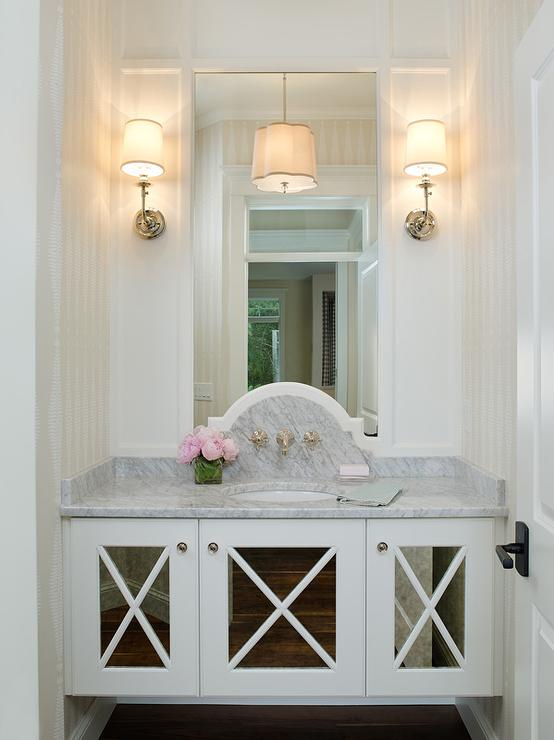 Glamorous Powder Room Design Ideas