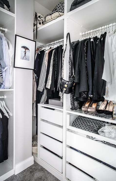 See Through Closets  Contemporary  closet  Lonny Magazine