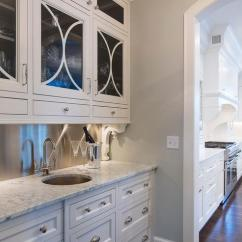 White Kitchen Faucet Cooking In The Games Stainless Steel Butler Pantry Backsplash With Corbels ...