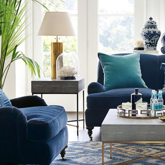 Regina Andrew Furniture Marilyn Shagreen Table