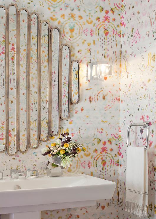 Bathrooms Art Deco Powder Room Design Ideas