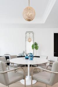 Leather Folding Chairs - Transitional - dining room - HSH ...