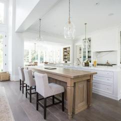 Free Standing Kitchen Islands The Home And Store Center Island Doubles As Dining Table - Transitional
