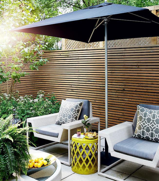 lattice patio privacy fence design ideas