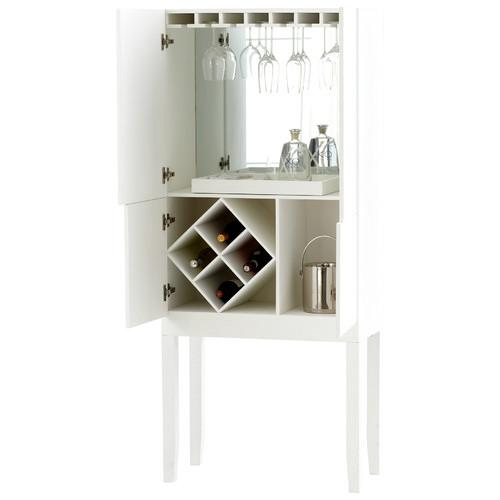 Monaco Bar Cabinet in Bar Cabinets  CrateBarrel