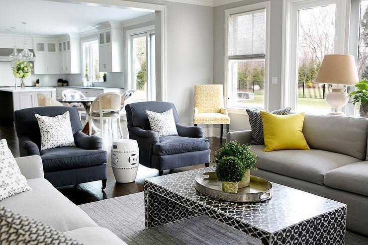 Blue Gray Sofa Remarkable Grey Sectional Decor Gray Blue