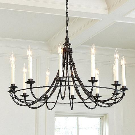Cosette 10 Light Chandelier  Ballard Designs