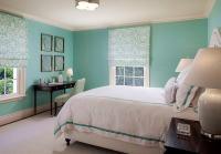 Tiffany Blue Bedroom - Eclectic - bedroom - Benjamin Moore ...