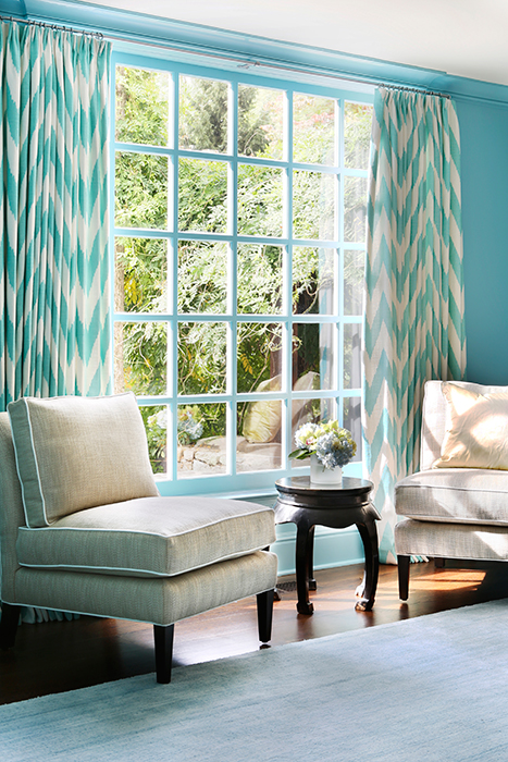 chevron living room curtains small with stairs ideas blue sitting turquoise