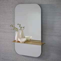 West Elm Living Rooms Modern Room Sets Cheap Gold Floating Shelf Wall Mirror