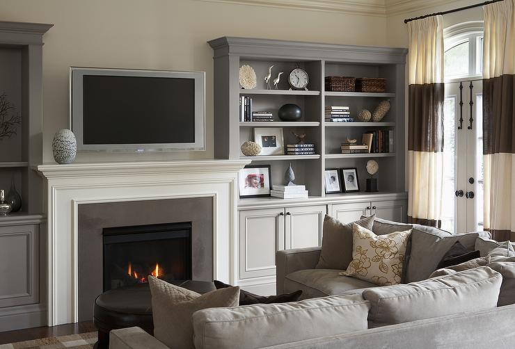 restoration hardware sectional sofa linen ashley franden durablend reviews off white with gray pillows ...