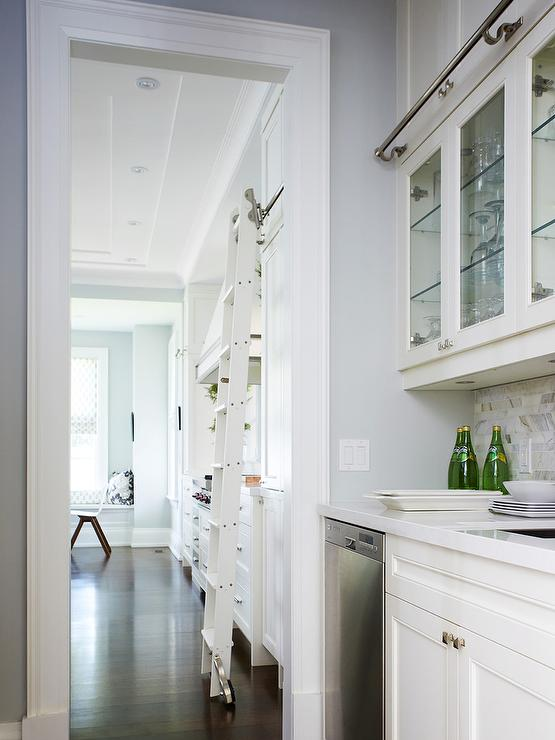 White Kitchen Quartz Countertops