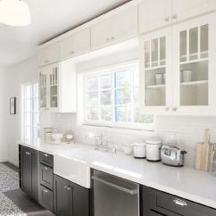 Cement Tile Kitchen Modern Pulls For Cabinets White And Black With Bouquet Iii Tiles