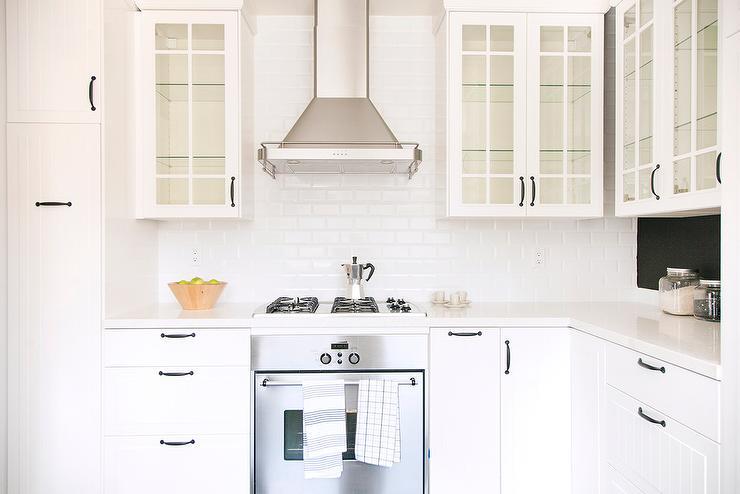 Glass Door Kitchen Cabinets Design Ideas