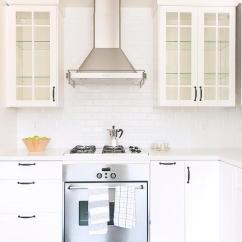 White Kitchen Cabinets Glass Doors 18 Inch Deep Door With Oil Rubbed Bronze Pulls And Shelves
