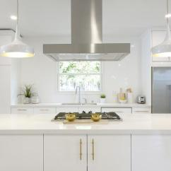 Brass Kitchen Pulls Best Lighting White And Gold With Long Brushed Contemporary