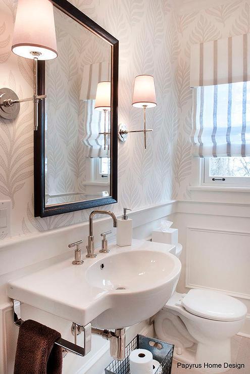 living room contemporary interiors grey wooden floor ideas striped powder - bathroom lonny magazine