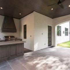Outdoor Kitchen Hood Pictures Of Laminate Countertops Covered Patio With Walnut Stained Cabinets