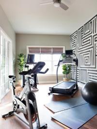 Basement Gym - Contemporary - basement - Toronto Interior ...