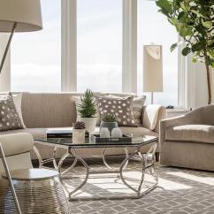 Light Gray Living Room Rug How To Decorate A Narrow Rectangular With Bernhardt Paxton Coffee Table
