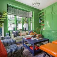 Apple Green Paint Design Ideas