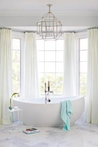 Curtains In Master Bathroom