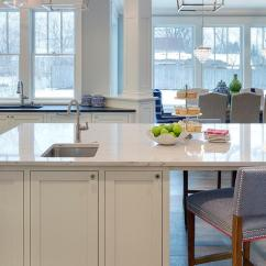 Round Wood Kitchen Table Commercial Ceiling Tiles White Cabinets With Overlay Panel Trim ...