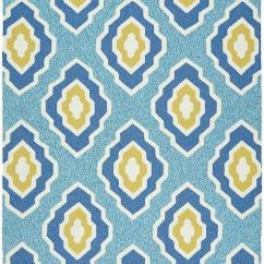 Navy Blue Yellow And Grey Living Room Minneapolis Rug – Home Decor