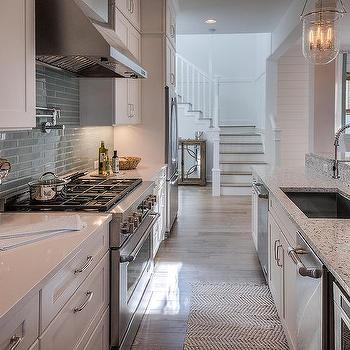 recycled glass kitchen countertops granite tile design ideas white and blue beach cottage with gray turquoise