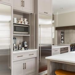 Kitchen Window Treatments Above Sink Blue Pearl Granite Coffee Station With Fold In Doors - Contemporary ...