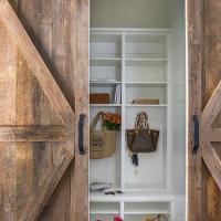 White Barn Door Design Ideas