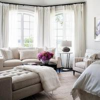 Bedroom Bay Window Sitting Area Design Ideas