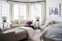 Bedroom Bay Window Sitting Room with Bay Window Sofa