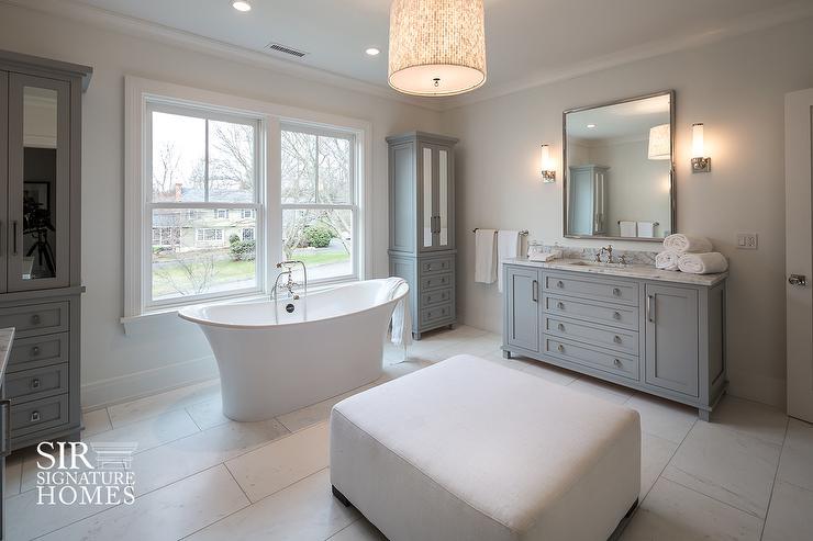 Tall Bathroom Linen Cabinet