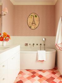 Pink Subway Tile | Tile Design Ideas