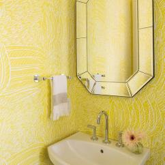 Wall Mirror Living Room Curtains Cheap Yellow Powder With Cimarron Pedestal Sink ...
