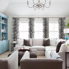 Living Rooms With Blue And Brown Wall Paint Colors Room White Tiffany Accents Transitional