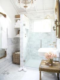 Blue French Country Bathroom Design Ideas