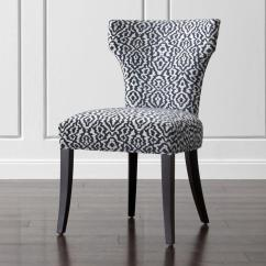 White Upholstered Chairs Rocking For Children Navy And Dining Chair