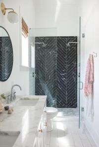 Master Bath with New Ravenna Pembroke Tiles - Contemporary ...