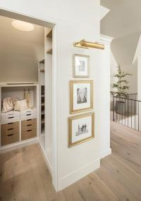 Second Floor Landing Closet with Sloped Ceiling ...