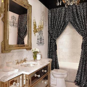 Double Shower Curtains Design Ideas