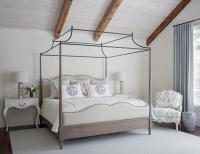 French Iron Canopy Bed