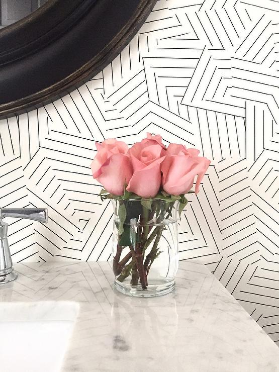 Schumacher Queen Of Spain Black Wallpaper Design Ideas