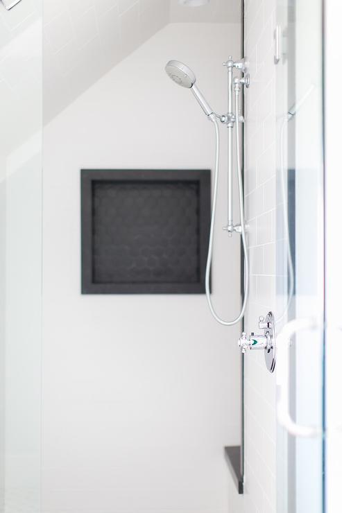 sloped ceiling shower design ideas