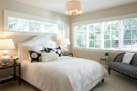 Bed under Window - Transitional - bedroom - Hugh Jefferson ...