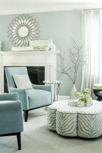 Powder Blue Living Room Curtains | Curtain Menzilperde.Net