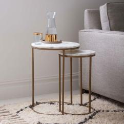 Mitchell Gold Chairs Plastic Hand Chair Monroe Glass Top Brass Nesting Side Table