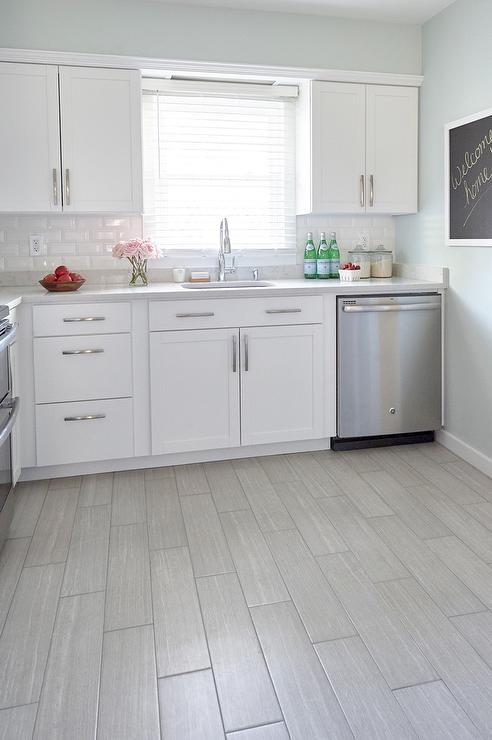 gray wood like porcelain floor tiles